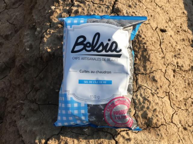 Chips Artisanale au Sel de l'île de Ré