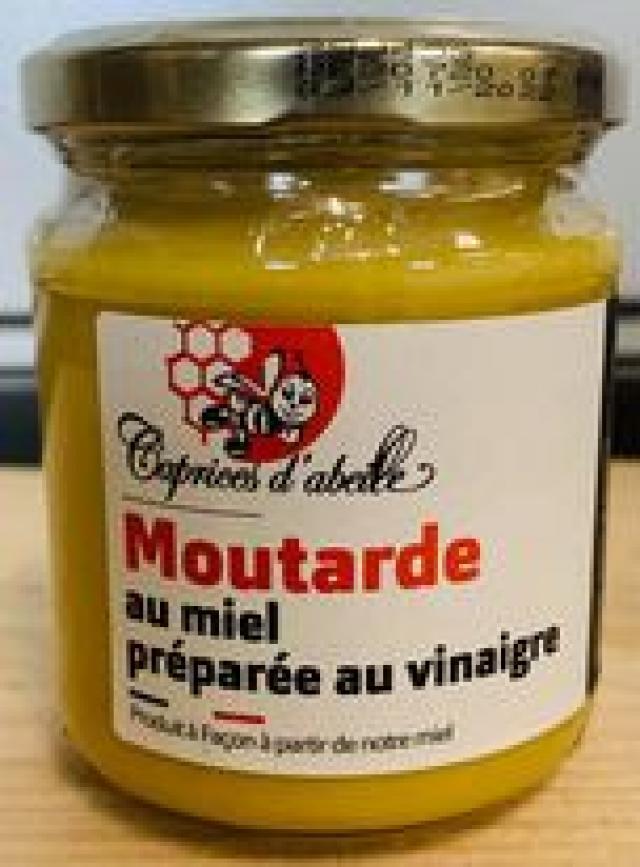 Moutarde Miel au Vinaigre