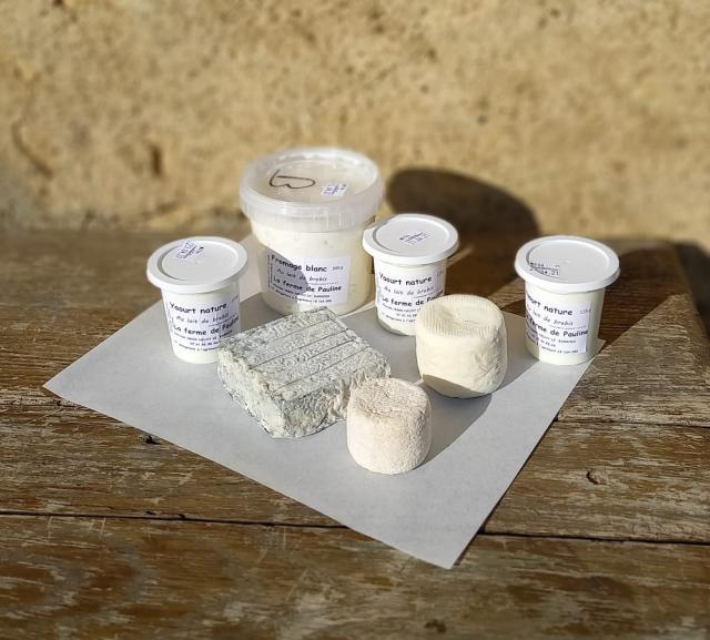 Laitages a base de lait de brebis