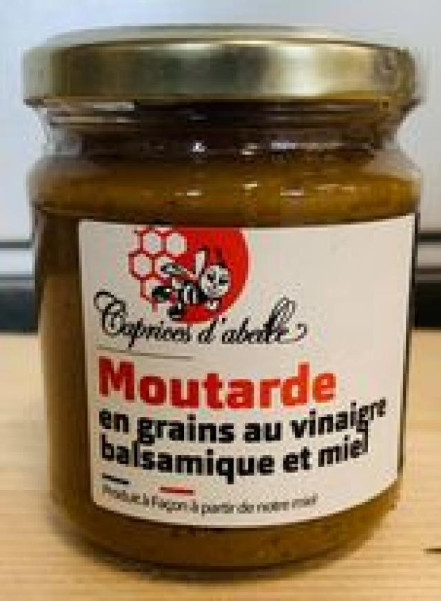 Moutarde Vinaigre Balsamique Miel