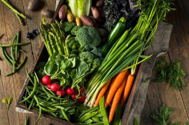 les légumes nouveaux