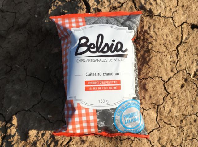 Chips Artisanale au Piment d'Espelette AOP
