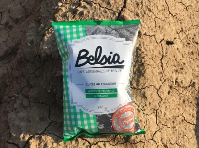 Chips Artisanale aux Herbes de Provence et Tomates